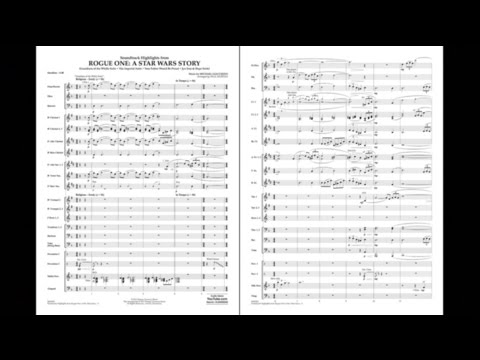 Rogue One: A Star Wars Story by Michael Giacchino/arr. Paul Murtha