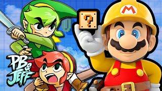 Super Mario Maker  - ZELDA LEVEL!
