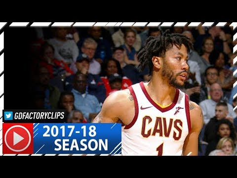 Derrick Rose Full Highlights vs Wizards (2017.11.03) - 20 Pts