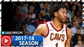 Derrick Rose Full Highlights vs Wizards (2017.11.03) - 20 Pts