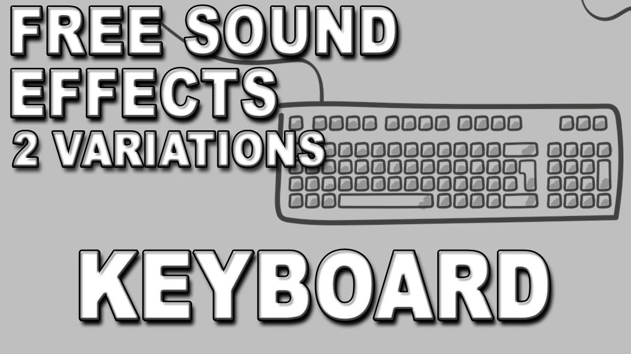 Keyboard Click Noise Sound Effect Free Download