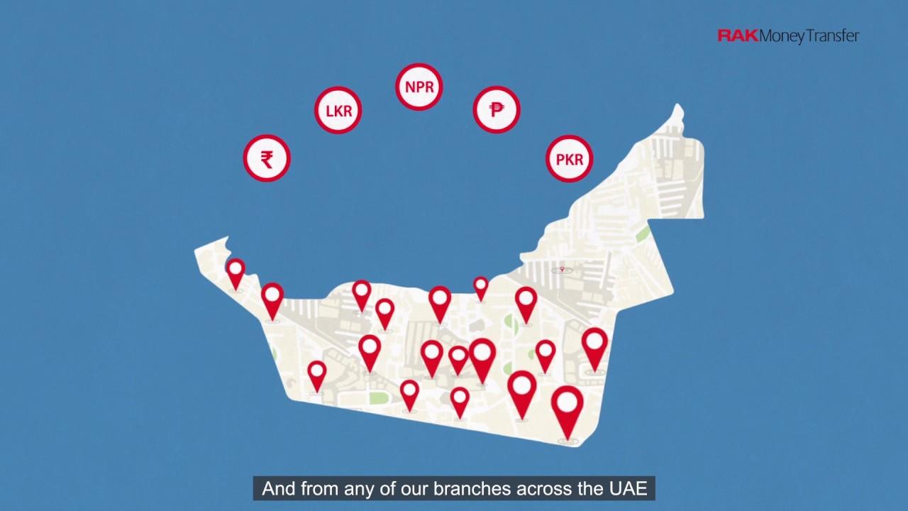 RAKmoney Transfer from UAE to Pakistan - RAKBANK