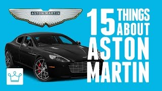 15 Things You Didn't Know About ASTON MARTIN