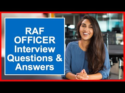RAF Officer Interview Questions and Answers OASC and Filter Interview Prep