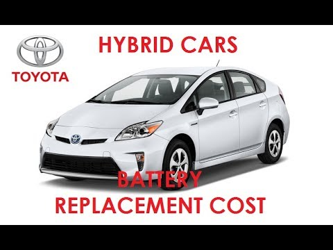 Toyota Hybrid Cars Battery Replacement Cost Guide Pakistan