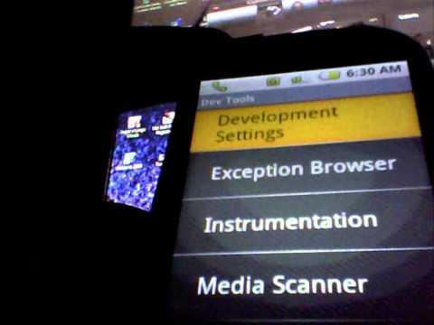 samsung Corby,simulando android,teclado iphone