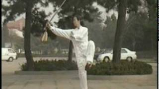 Beautiful Tai Chi 32 Sword Form