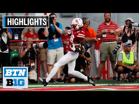 Highlights: Huskers Bounce Back vs. Huskies | Northern Illin