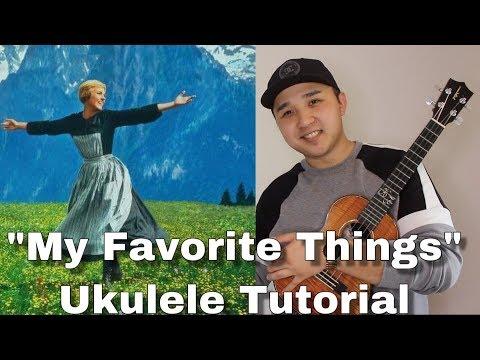 """""""My Favorite Things"""" - Sound Of Music (UKULELE PICKING TUTORIAL) - Kris Fuchigami thumbnail"""