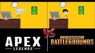 PUBG Gamers VS Apex Legends Gamers