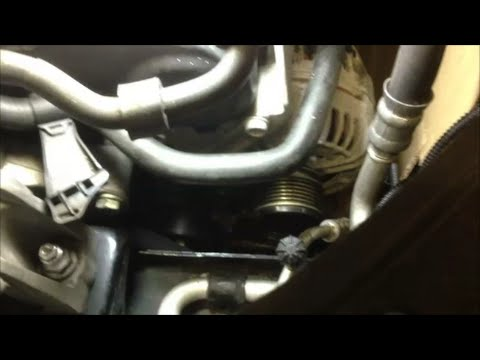VW MK5 Alternator Removal on 2009 Jetta TDI