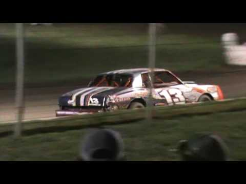 sport Compact and Factory Stock heat Race 4-14-17 At Humboldt Speedway
