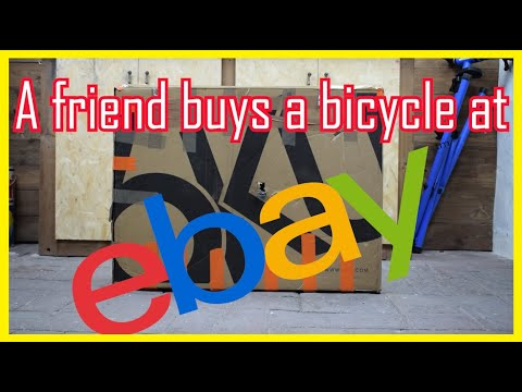 A friend buys a bicycle at ebay !!! thumbnail