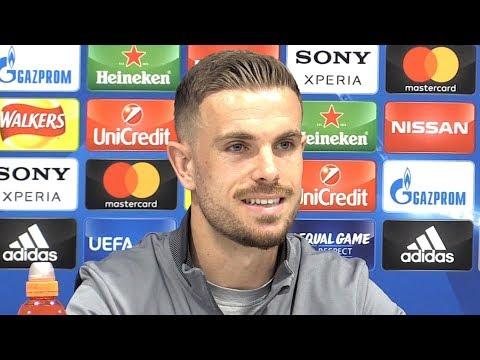 Jordan Henderson Full Pre-Match Press Conference - Liverpool v Roma - Champions League Semi-Final