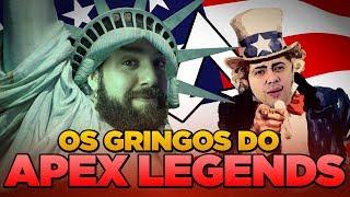OS GRINGOS MAIS BR DO APEX LEGENDS feat. Alanzoka