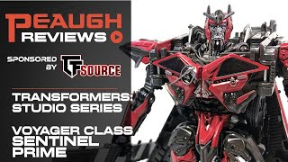 Video Review: Transformers Studio Series - Voyager Class SENTINEL PRIME