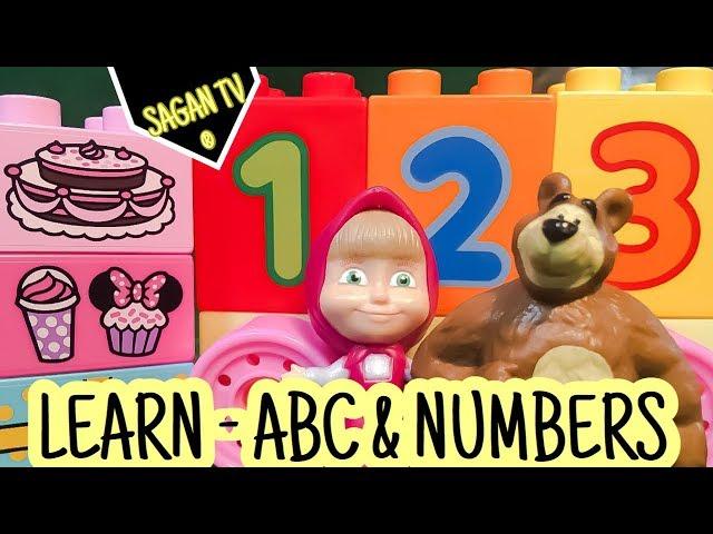 Masa a Medved dabing ? Animovane rozpravky po Slovensky pre deti ? Learn Alphabet ABC & Numbers