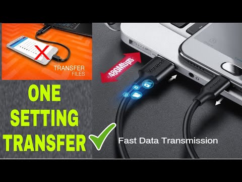 How To Transfer File Mobile To Laptop | Mobile Usb Not Connect To Laptop⚡⚡⚡