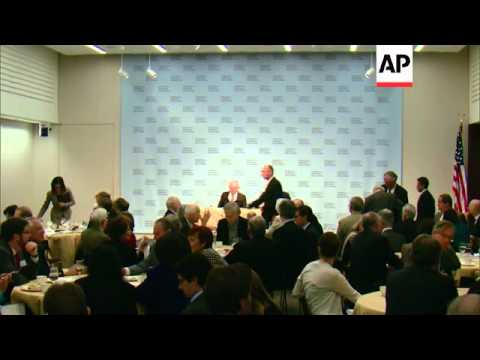 G20 news conference at IMF economic forum