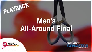 FIG WORLD CHAMPIONSHIP REPLAY: Stuttgart 2019 Men's All-Around Final