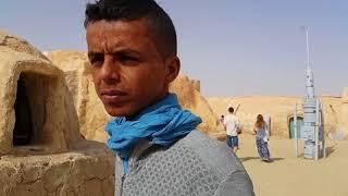 Тунис.Сахара.Здесь снимали ''Звездные  войны''