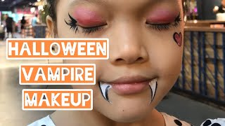 HALLOWEEN KID VAMPIRE MAKEUP FUN DAY FACE PAINTING
