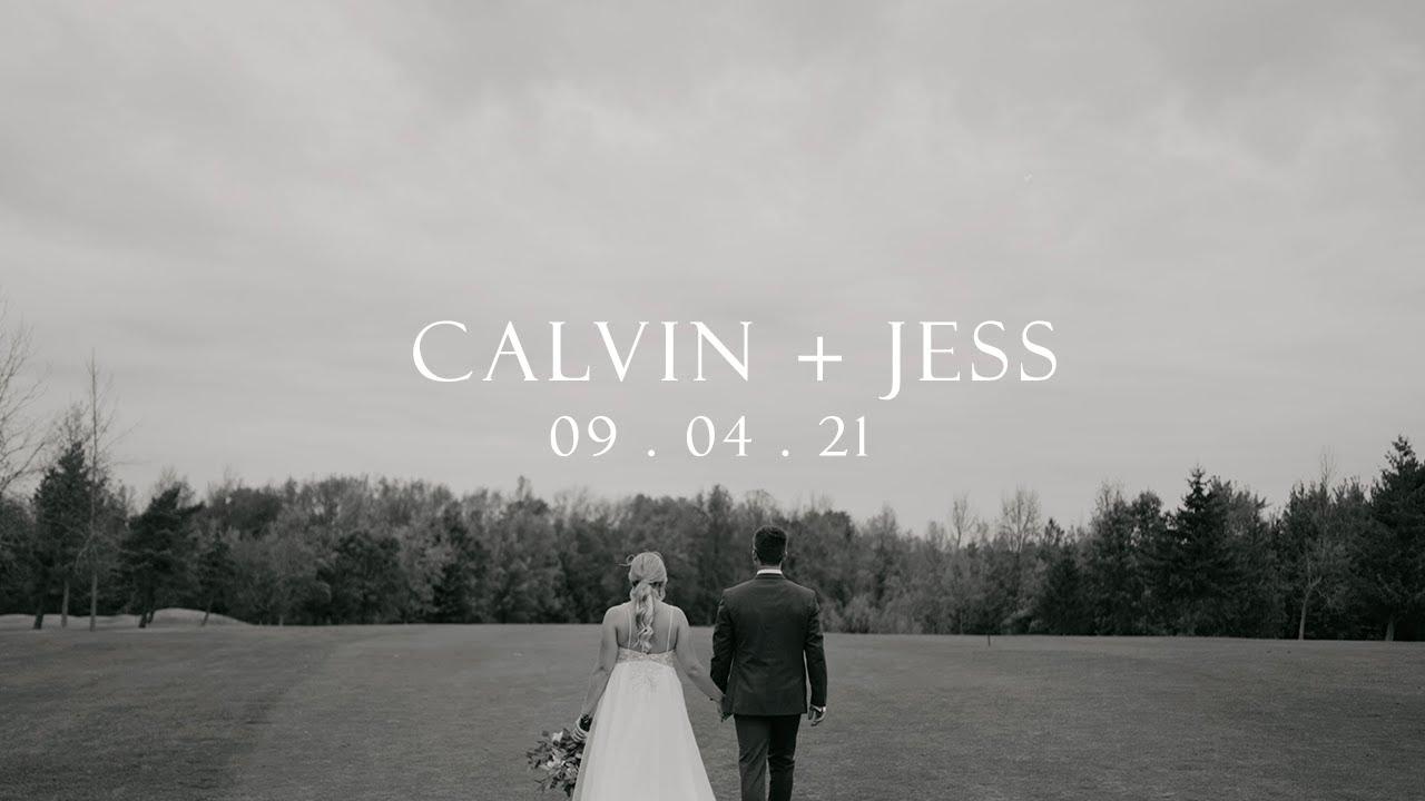 Emotional Wedding film - Calvin and Jess - Ainsdale Golf Course Wedding Highlight