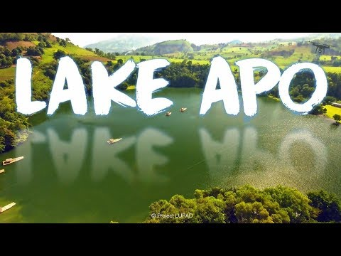 Lake Apo Valencia Bukidnon Aerial Tour 4K
