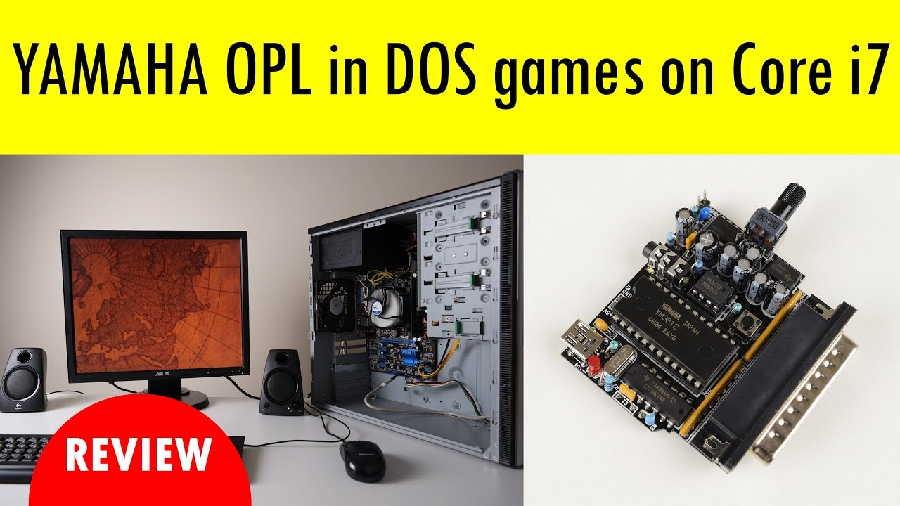 Adlib Yamaha Opl Sound In Dos Games On A Core I7 Pci Card 4 Channel With Game Port