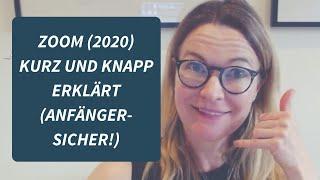 Zoom schnell erklärt (Veranstalter + Teilnehmer 2020) & häufigster Anfängerfehler (Tutorial deutsch)