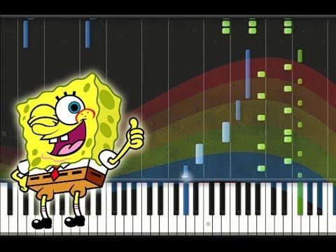 F. U. N song keyboard/ piano tutorial (spongebob squarepants) easy.