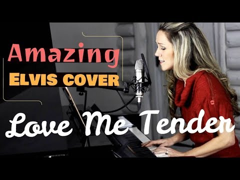 LOVE ME TENDER Cover Elvis Presley. Featuring Lynsay Ryan On Tenor Saxophone And Piano