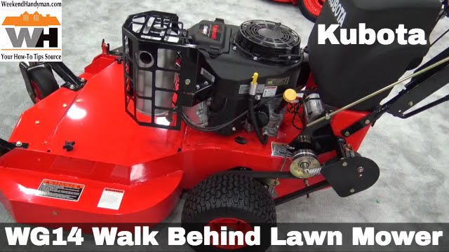 Kubota Wg14 Walk Behind Lawn Mower Weekend Handyman