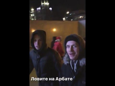 ТАНЦЫ на ТНТ. Прогулка по Москве 20.01.2017