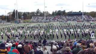 Blugold Marching Band 2013 - 50 Ways to Say Goodbye