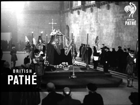 The Last Salute Aka King George Vi. Lies In State (1952)