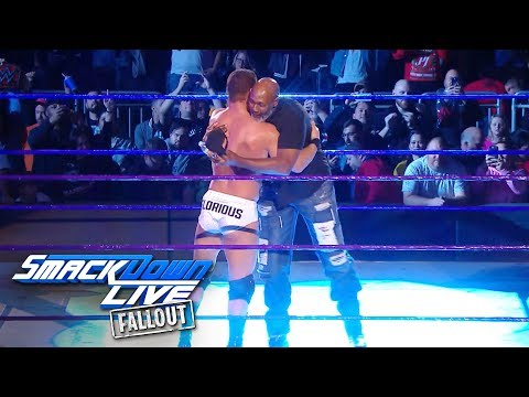 """Basketball legend Karl """"The Mailman"""" Malone proves glorious: SmackDown LIVE Fallout, Jan. 2, 2017"""