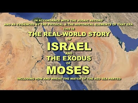 The Real-World Story Of Israel And The Exodus Of Moses