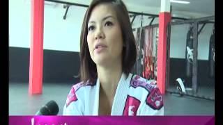 Aline Adita @ Arena MMA Indonesia
