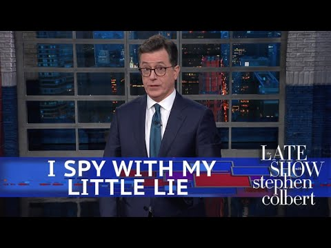 See Colbert Joke - Nice Try Deep State, Trump Has You Figured Out!