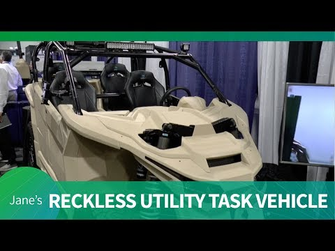 AUSA 2018 Nikola Defense Reckless UTV (Utility Task Vehicle)