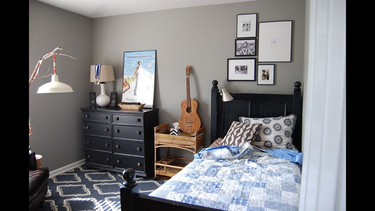 Easy  Simple Boys Bedroom Ideas  YouTube