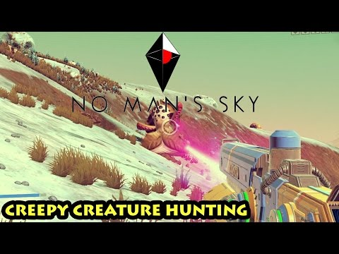 CREATURE KILLING, CRASHED SHIP & ME DYING- No Man's Sky - Reunion Episode 7