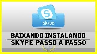Como Baixar e instalar Skype 2015
