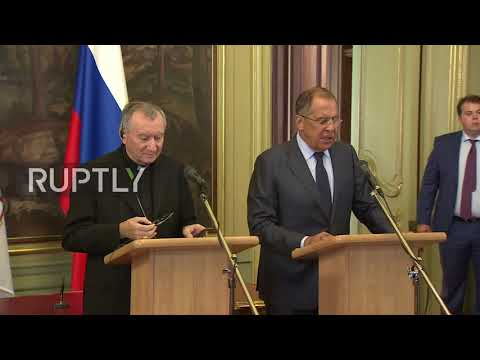 Russia: Lavrov and Vatican secretary of state discuss Ukraine and Venezuela crises