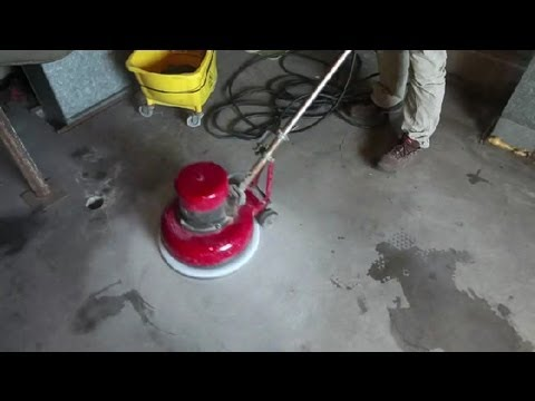 How to remove old paint from concrete floors concrete for How to clean cement floor