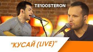 TE100STERON -  КУСАЙ (Live)
