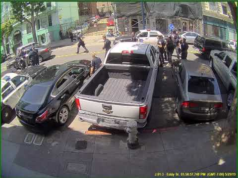Shay Diddy - SFPD Arrest Female Driver Behind Multiple Hit & Runs Today in San Francisco