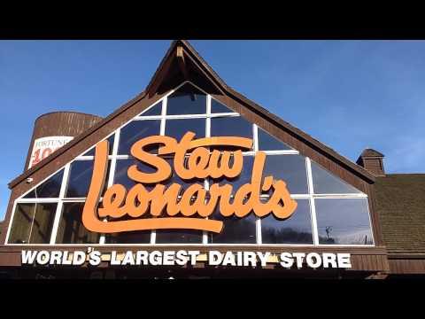 Stew Leonards in Danbury CT tour.