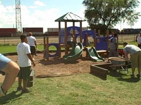 pea gravel playground border uwenm building playground 7moving pea gravel youtube